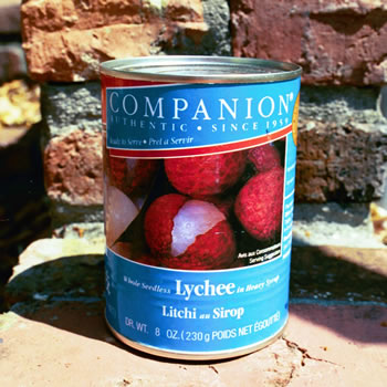 Companion Brand Canned Lychees